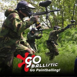 Go Ballistic Paintball Canary Wharf, London