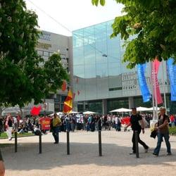 Blick aufs Kunstmuseum vom Schossplatz