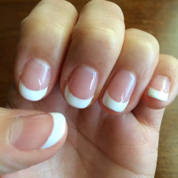 & Spa By Lauren - San Diego, CA, United States. French gel manicure