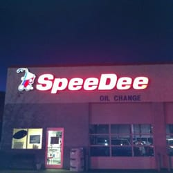 SpeeDee Oil Change & Tune-Up is a locally owned and operated franchise auto repair, offering smog checks, oil change, tune-up, major maintenance service, air conditioning/radiator service, transmission service, and brake services.