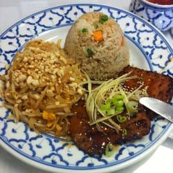 Siam Kitchen Restaurant - Spicy fire pork lunch special. - Westmont, IL, Vereinigte Staaten