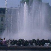 Hochstrahlbrunnen am Schwarzenbergplatz, Wien, Austria