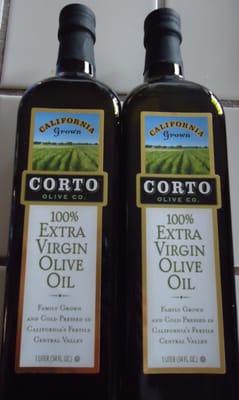 For Two 1 Liter Bottles Of Corto Brand Extra Virgin