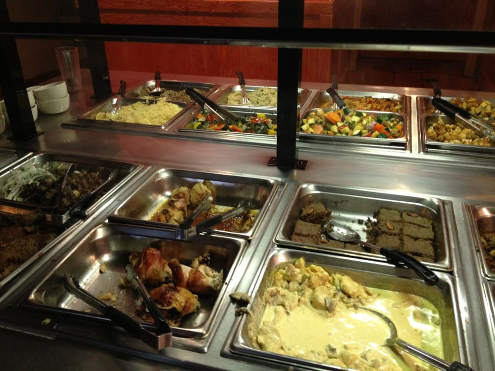 Mediterranean quick buffet lunch yelp for Ali baba mediterranean cuisine