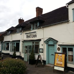 The front entrance of the Red Lion