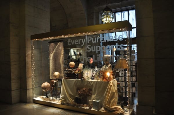 the new york public library gift shop libraries