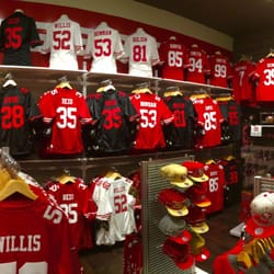 Photos of the team store during Game One of the Eastern Conference