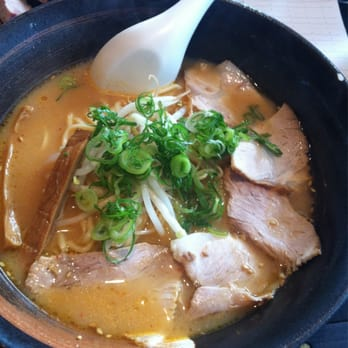Miso ramen with pork