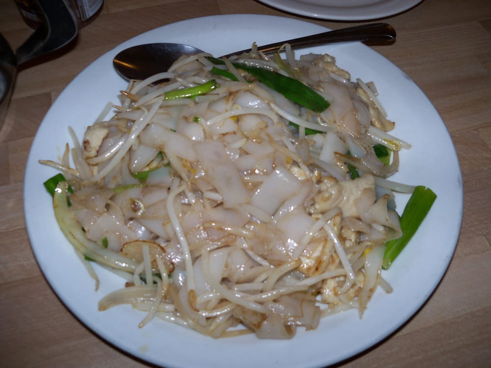 chicken chow fun (no gravy) | Yelp