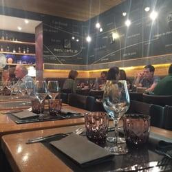 L'Ardoise - Paris, France. Small restaurant with about 12 close-knit tables