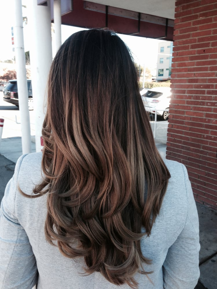 Balayage Highlights Philippines images