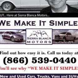 Sierra Blanca Motors Ruidoso Nm Yelp