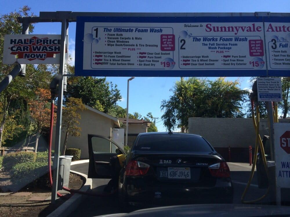 Sunnyvale Car Wash Price
