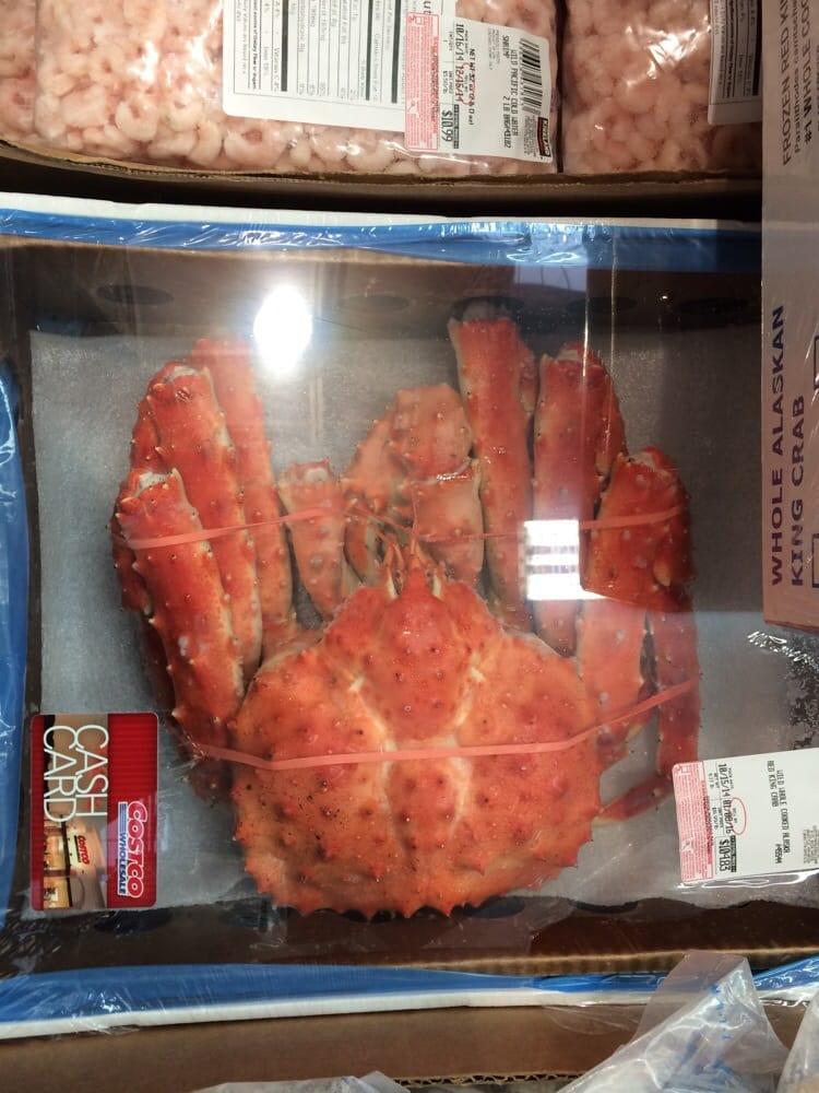 King Crab Cooked Cooked Alaskan King Crab