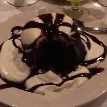 Chocolate Lava Cake Decoration : Cafe Assisi - Italian - Wrentham, MA - Reviews - Photos ...
