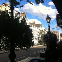 View from the terrace for 15 selwood terrace south kensington london sw7 3qg