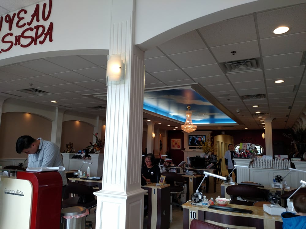 Nouveau nails and spa nail salons dayton oh yelp for A nail salon fort wayne in
