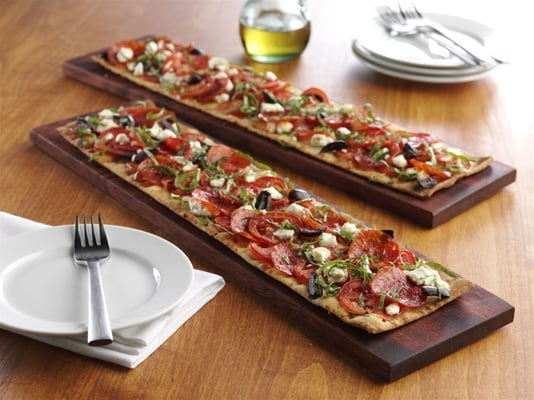 armenian pizzas lahmahjoon tomato and stracciatella pizzas flatbread ...