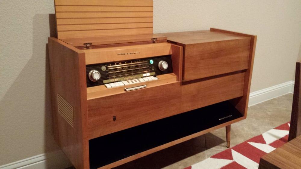 Console Radio Repair Majestic Console Radio
