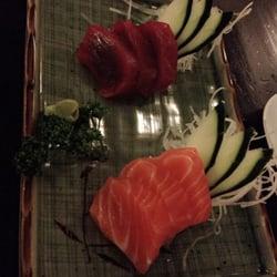 sashimi salmon atun