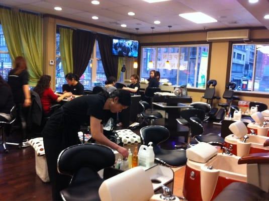 fair lady nail beauty salon midtown west new york