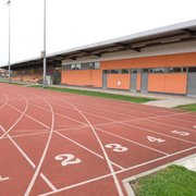 Our outdoor athletic track