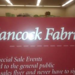 Hancock Fabrics logo