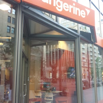 Tangerine Caf De Montr Al Bank Building Societies