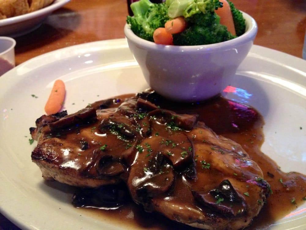 Texas roadhouse mushroom chicken recipe