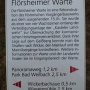 Flörsheimer Warte, Flörsheim am Main, Hessen