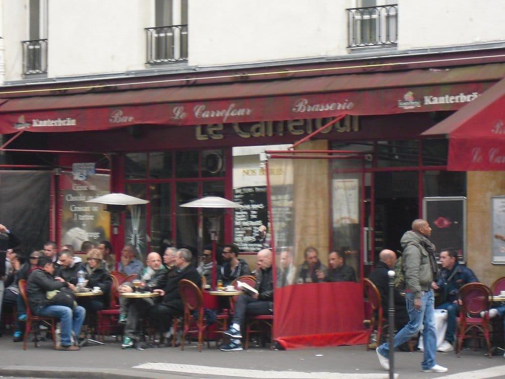 Le Carrefour Caf Ef Bf Bd  Rue Des Archives  Paris