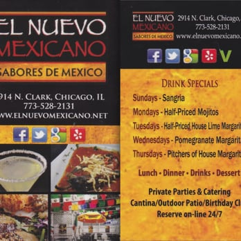 El Nuevo Mexicano - Chicago, IL - Locu