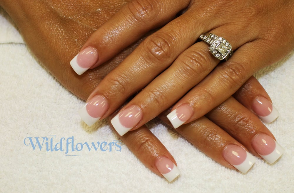 Nail and Hair Studio - Pink and Whites (Acrylic Nails) - Cape Coral