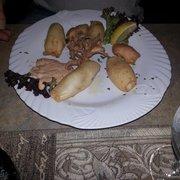 Hab mehr erwartet Calamari mit Salat -…