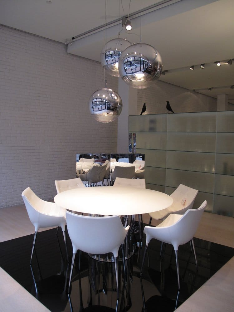 Inform interiors furniture shops downtown vancouver for Dining room tables vancouver bc