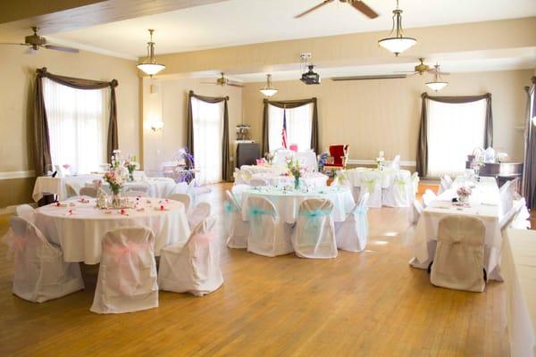 Banquet Room Bridal Shower Set Up 1 Yelp