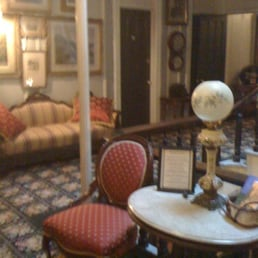Adelphi Hotel - Saratoga Springs, NY, États-Unis. Sitting area 3rd floor