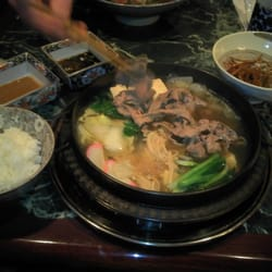 I LOVE RAMEN - Japanese Noodle House - Sample of the Beef Shabu Shabu and all the fixings that come with it. - Federal Way, WA, Vereinigte Staaten