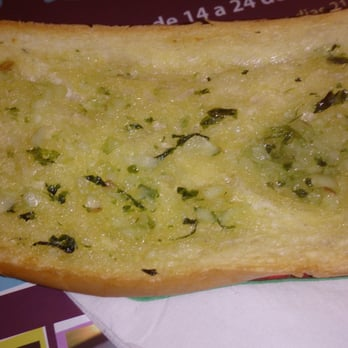 Freshly made garlic bread!