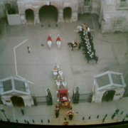 Horseguards from the air over the Royal…