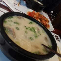 Gahm Mi Oak Restaurant - sul lung tang oxtail soup - New York, NY, United States