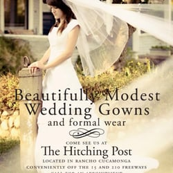The hitching post modest wedding dresses rancho for Wedding dresses rancho cucamonga