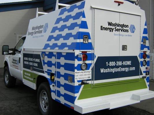 Washington Energy Services Closed Heating Air