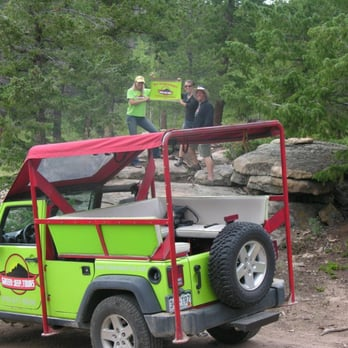 Green Jeep Tour Estes Park Co