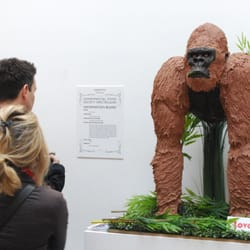 Love to Cake life-size Gorilla cake for…