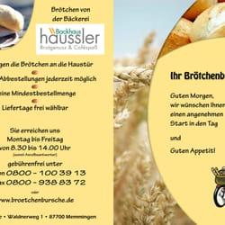 Ihr Brötchenbursche Brötchen zustelldienst bringdienst bringer, Memmingen, Bayern, Germany