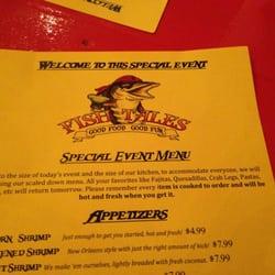 Fish tales richmond hill ga yelp for Fish tales menu