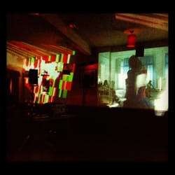 Instamatic and the Kleptones performing with music and video projection shows