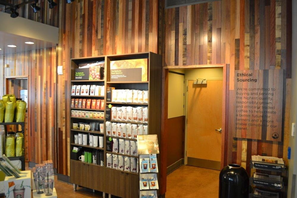 Jakarta custom mix starbucks portland or yelp for Reclaimed flooring portland