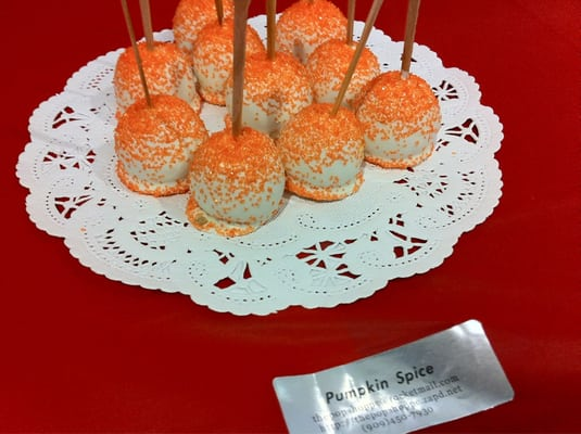 The Pop Shoppe - Pumpkin Spice Mini Cake Pops - Alhambra, CA, United ...